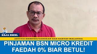 Pinjaman Bsn Micro-i Kredit Prihatin Kepada Kadar Faedah 0% Kepada Usahawan