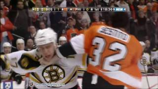 Milan Lucic vs Tom Sestito Jan 22, 2012 thumbnail