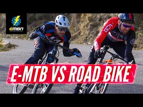 E Bike Vs Road Bike: Which Is Faster Down The Col De La Madone? | Nico Vouilloz Vs GCN's Dan Lloyd