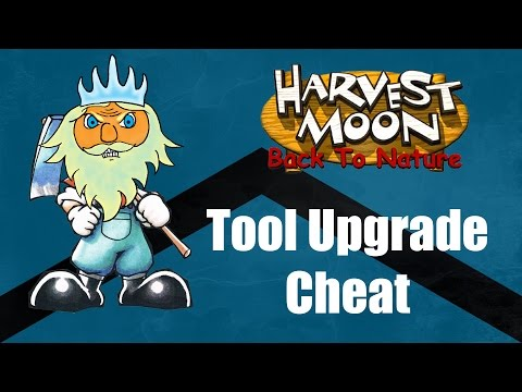Harvest Moon Back To Nature Guide | Tool Upgrade Cheat | Carbon Knights