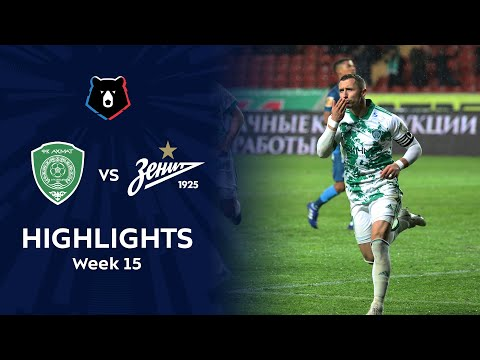 Akhmat Grozny Zenit Petersburg Goals And Highlights