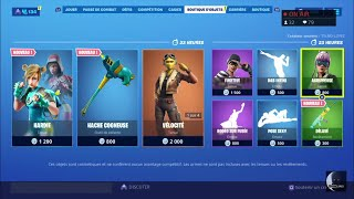 FORTNITE: Shop 15 September, New HARDIE skin - New axe COGNEUSE