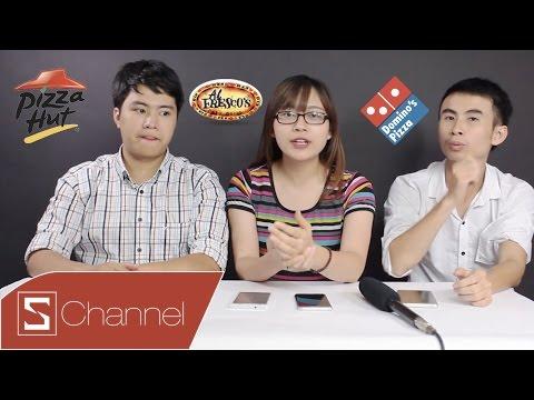 HÔM NAY ĂN GÌ - Đại chiến Pizza Dominos, Pizza Hut, Al Frescos: Hãng nào giao hàng nhanh nhất ?