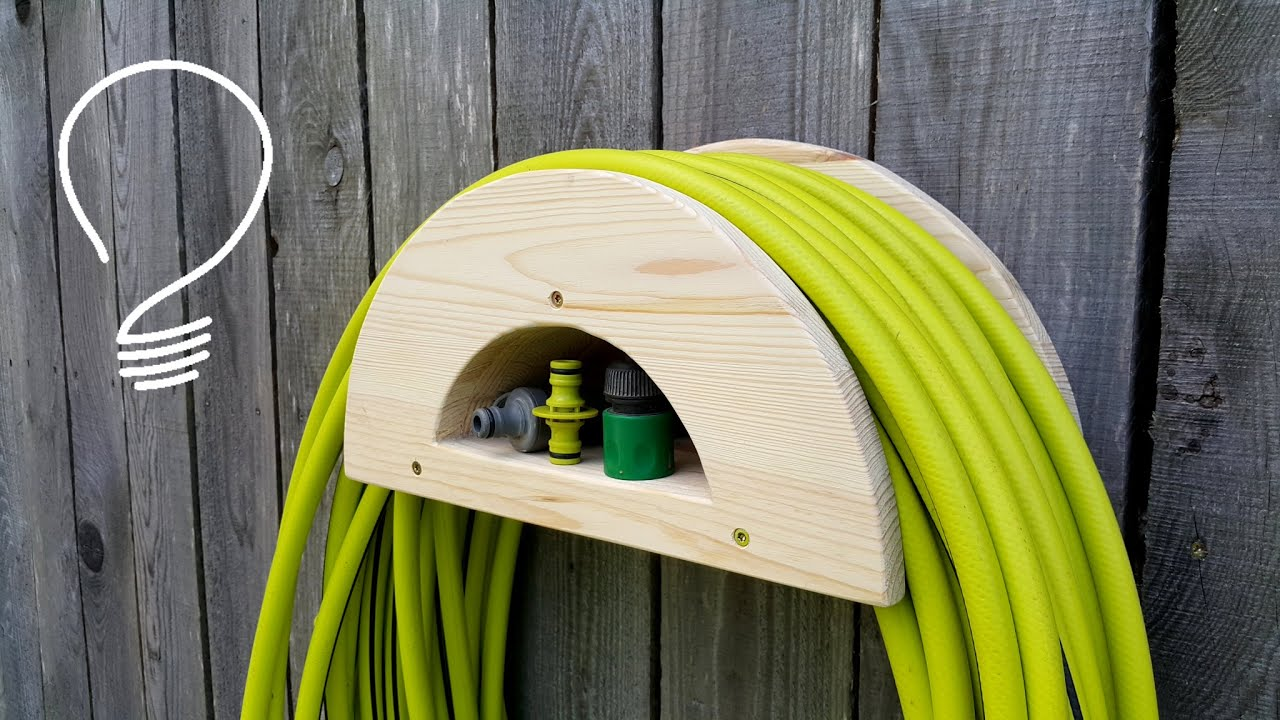 Making a Garden Hose Holder