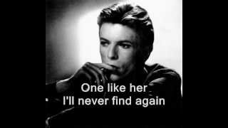 David Bowie - Ragazzo Solo, Ragazza Sola - english lyrics (Lonely Boy, Lonely Girl)