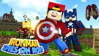 Minecraft Adventure - IRONMAN SPIES ON LITTLE ROPO!!