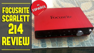 FOCUSRITE SCARLETT 2i4 | REVIEW EN ESPAÑOL
