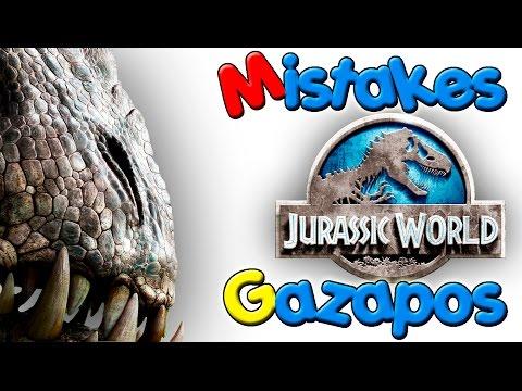 Errores de Jurassic World - Jurassic World Mistakes - Gazapos de Jurassic World