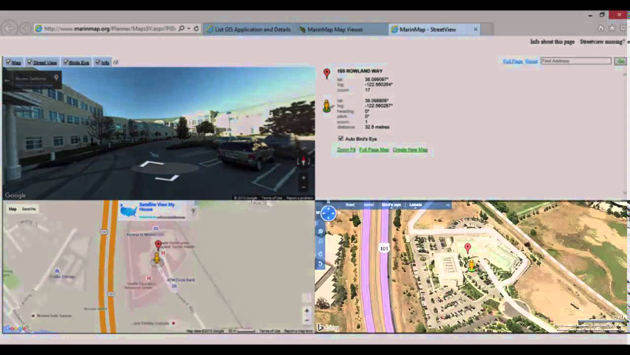 Marin Map Viewer The Search Tools 3 Of 8 Youtube