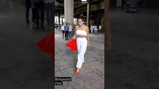 Malaika Arora #Hot in White Spotted at Airport Malaika Arora Khan New Video #malaika #shorts