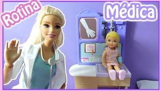 NOVELINHA: ROTINA  de MÉDICA  da Barbie