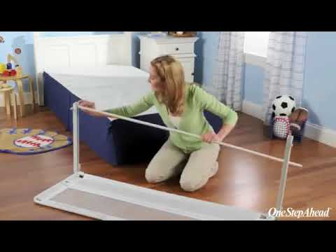 Assembling the Regalo Hide Away Bed Safety Rails