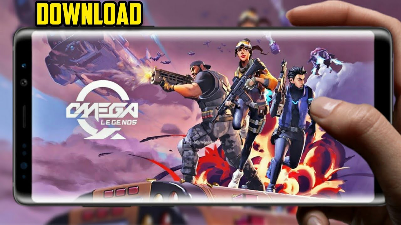 OMEGA LEGENDS ANDROID DOWNLOAD [APK+OBB] (FORTNITE LITE ...