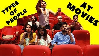 Types of People in Movie Theatres | Types of People in Cinema Hall | Video City Live