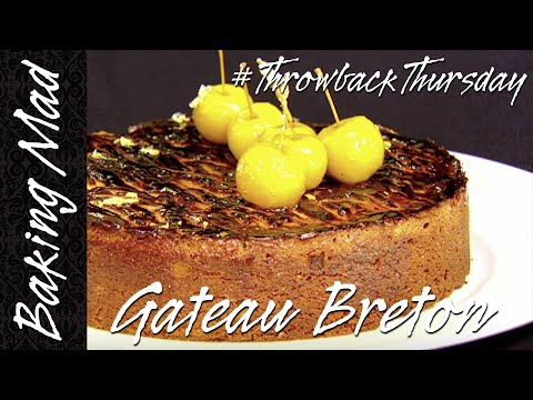 Eric Lanlard's Gateau Breton   #TBT