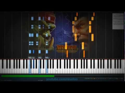 Warcraft II - Tides of Darkness - Human I [Piano]