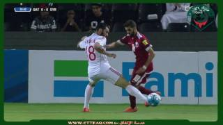 شاهد.. قطر تقتنص أول ثلاث نقاط على حساب سوريا