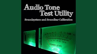 Sine Tone Pulse 1000 Hz -21dB 10 Sec