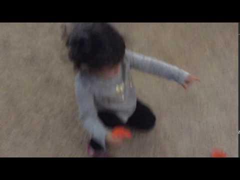Baby popping balloon