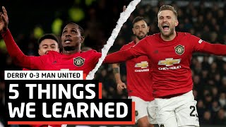 Ighalo Bags A Brace   5 Things We Learned vs Derby   DER 0-3 MUN