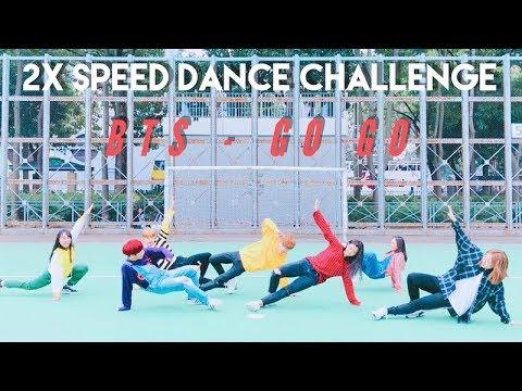 BTS (방탄소년단) - 고민보다GO 2X SPEED DANCE CHALLENGE   VERY LOUD AND EXTRA