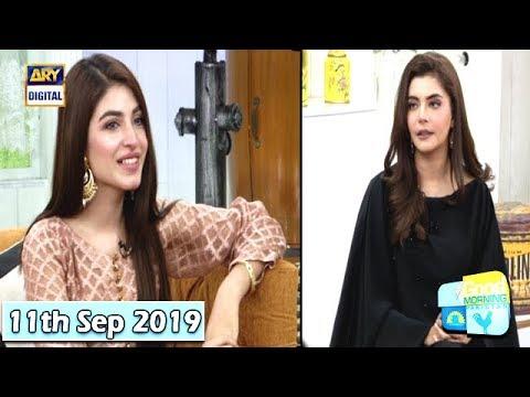 Good Morning Pakistan - Kinza Hashmi - 11th September 2019 - ARY Digital  Show