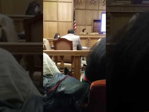 Umar Johnson in the courtroom - judge for yourself