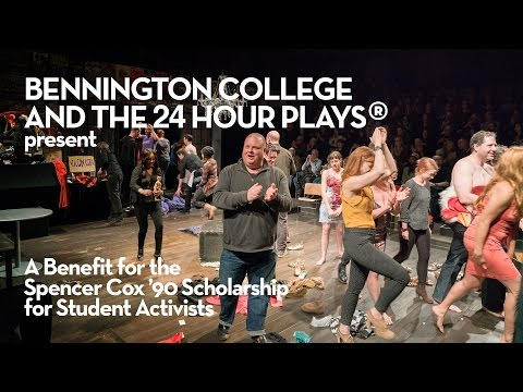 24 hour plays - Benefit for the Spencer Cox '90 Scholarship for Student Activists