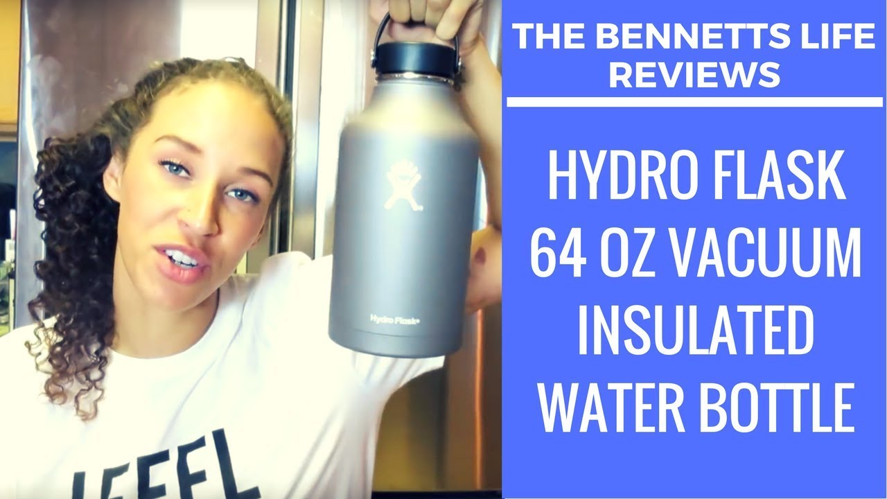 PRODUCT REVIEW | Hydro Flask 64 oz Vacuum Insulated Water Bottle