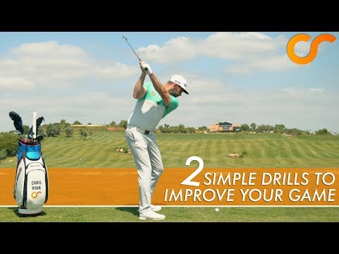 2 SIMPLE DRILLS TO IMPROVE YOUR GOLF GAME