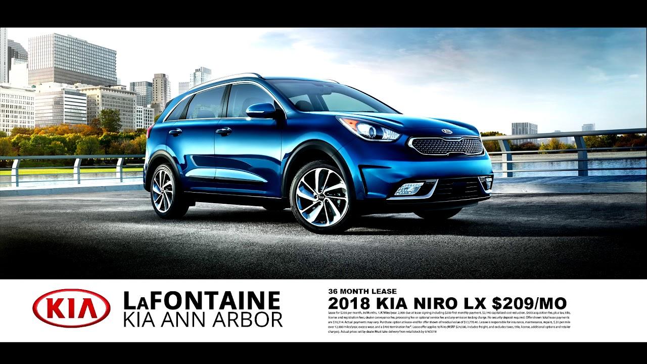 Lafontaine Ann Arbor >> Lafontaine Kia Of Ann Arbor 2018 Kia Niro Lx August