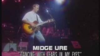 Midge Ure (Ultravox)  - Dancing with tears in my eyes (1988 live)