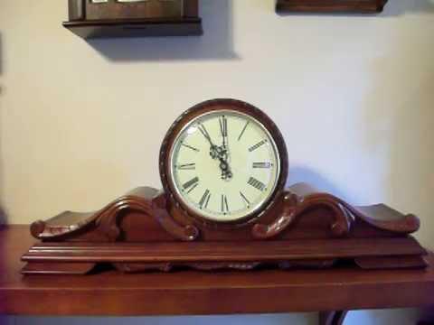 Art Deco Westminster Chime Quartz Mantel Clock