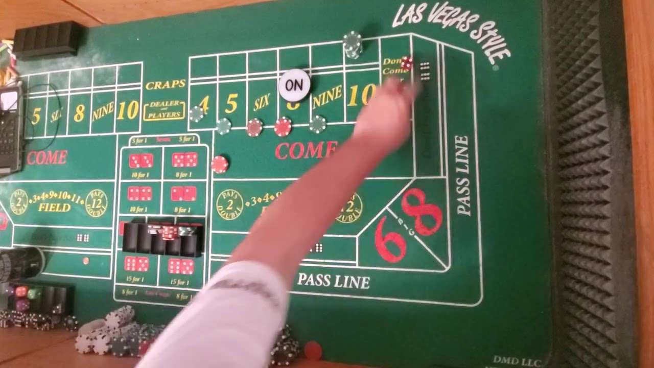 6 And 8 Craps Strategy