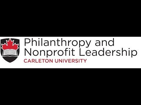 Philanthropy and Nonprofit Leadership, Carleton University