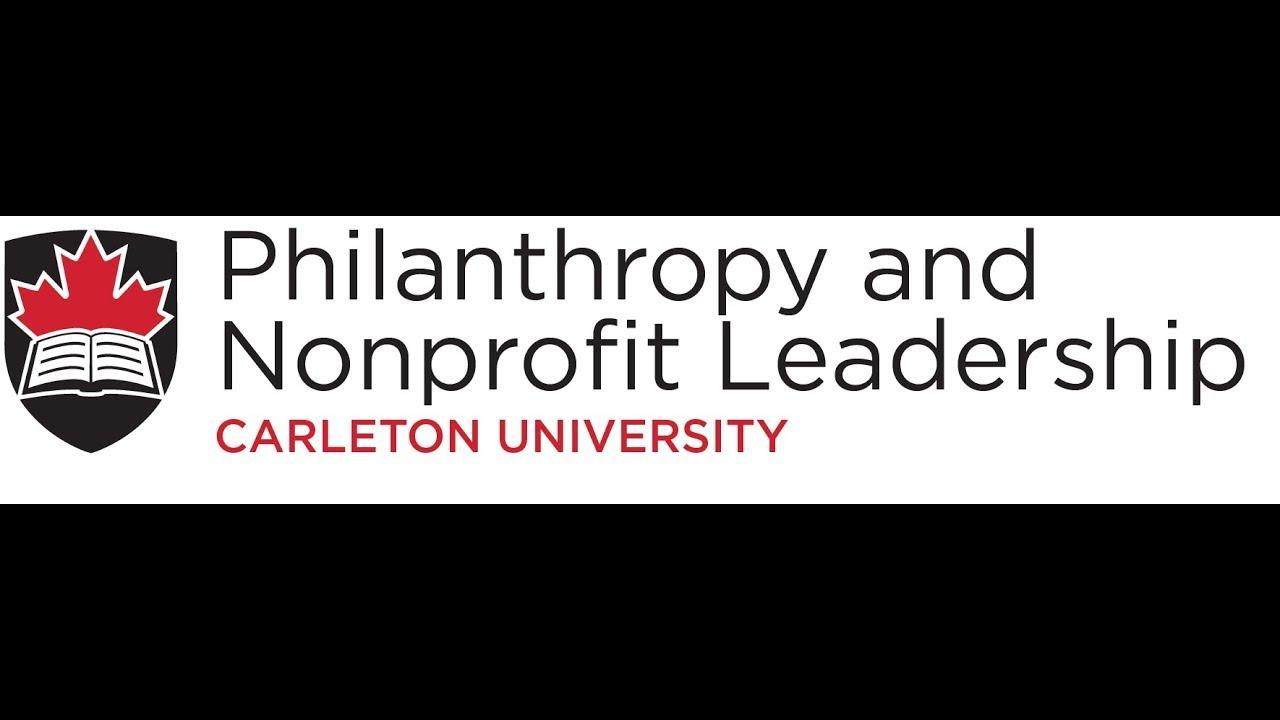 Philanthropy and nonprofit leadership carleton university youtube philanthropy and nonprofit leadership carleton university 1betcityfo Choice Image