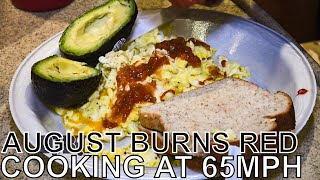 August Burns Red Makes 'Tour Bus Breakfast' - COOKING AT 65MPH Ep. 38
