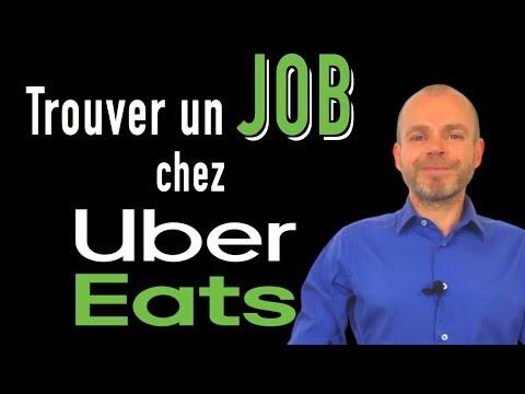 UBER EATS - COMMENT TROUVER UN EMPLOI DE LIVREUR
