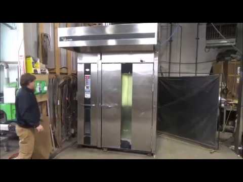 Baxter Double Rack Oven Gas Model OV210G M2B Running