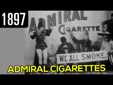 Admiral Cigarette Commercial (1897)