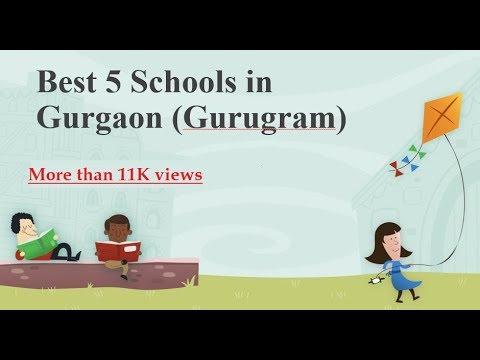 Best 5 schools in Gurgaon (Gurugram)