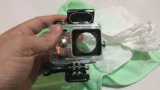 Test Kebocoran Waterproof Case Action Cam