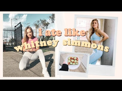 i ate like whitney simmons for a day