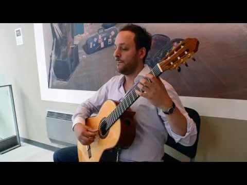 Tárrega: Capricho Árabe - Tariq Harb, Guitar