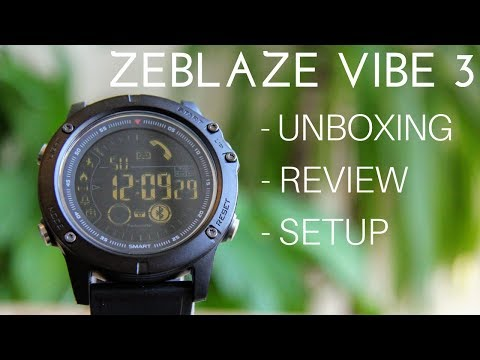 zeblaze-vibe-3-smartwatch.-unboxing,-review-and-setup