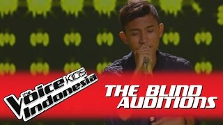 "Rizky ""Rame-Rame"" I The Blind Auditions I The Voice Kids Indonesia GlobalTV 2016"