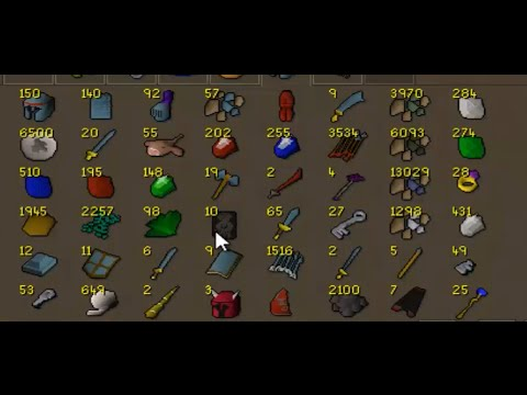 RuneScape 2007 Selling Off 95-99 Slayer Loot
