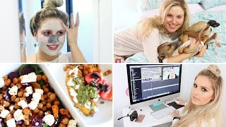 Night Time Routine ♡ Delicious Healthy Food & Pampering Skin Care!