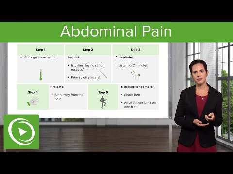 Abdominal Pain: Signs, Examination & Diagnosis – Emergency M