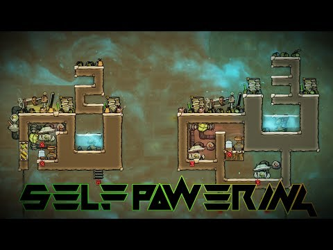 Self Powered Oxygen Production 2! Oxygen Not Included Tutori